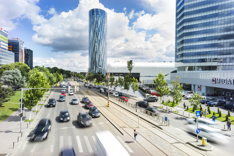 Большой город для открытия бизнеса в Румынии