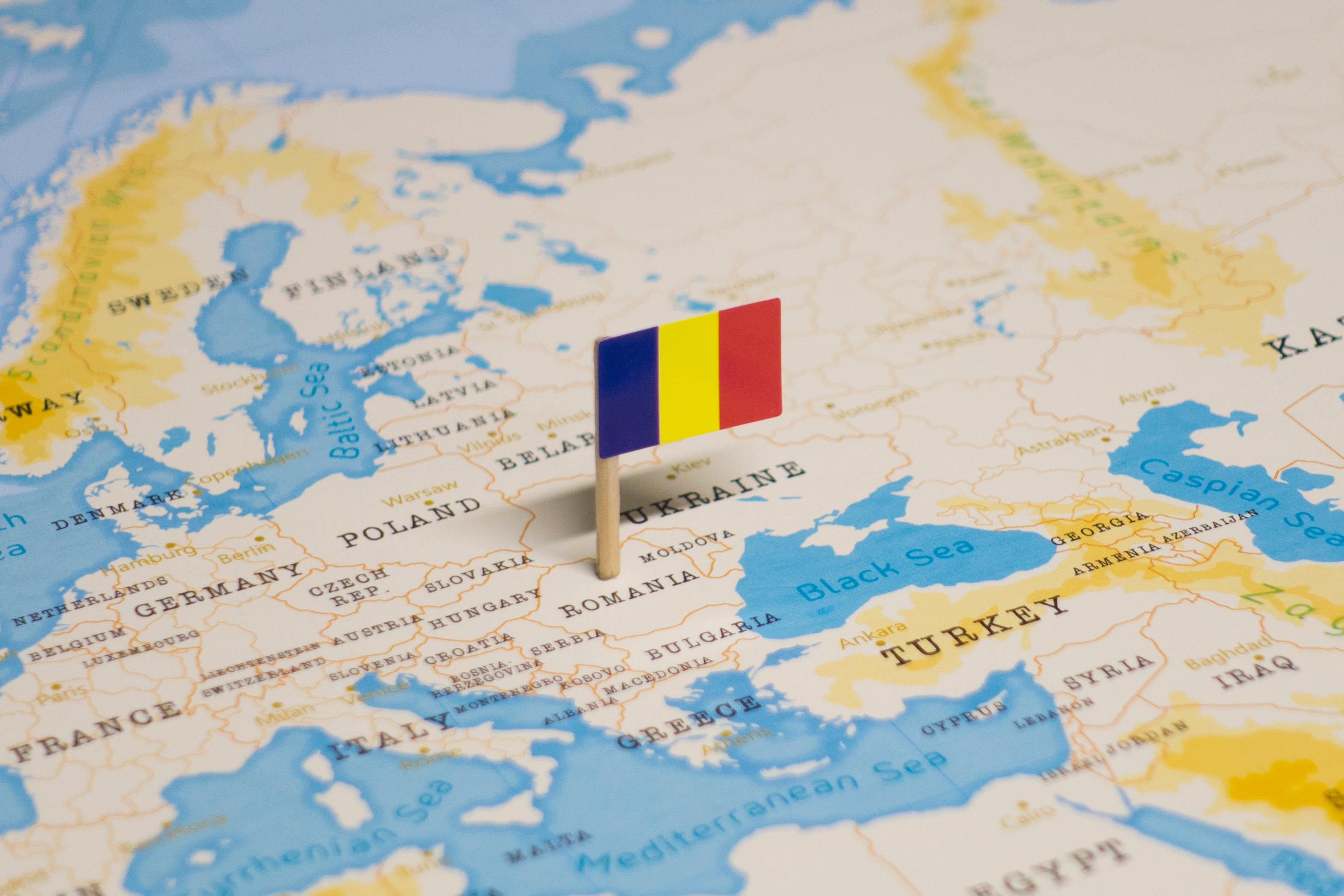 Флаг Румынии, гражданство которой можно получить